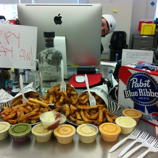 Photo taken at Thrillist HQ by Alexis B. on 4/6/2012