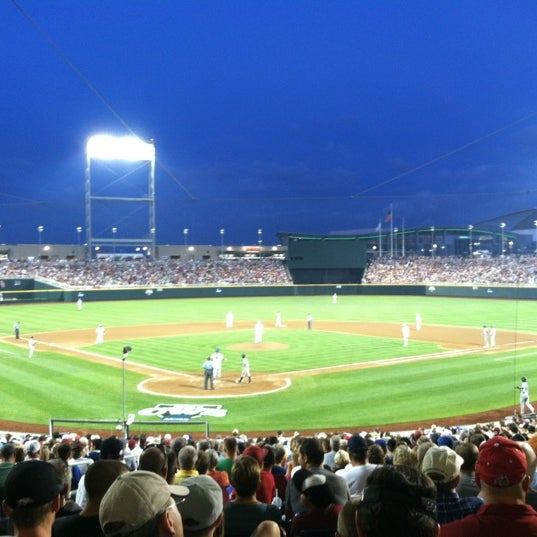 Photo taken at TD Ameritrade Park by Justin H. on 6/17/2012