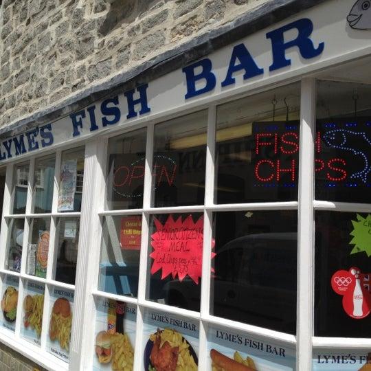 Lyme 39 S Fish Bar Lyme Regis Dorset