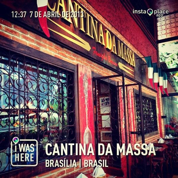 Foto tirada no(a) Cantina da Massa por Mauro V. em 4/7/2013