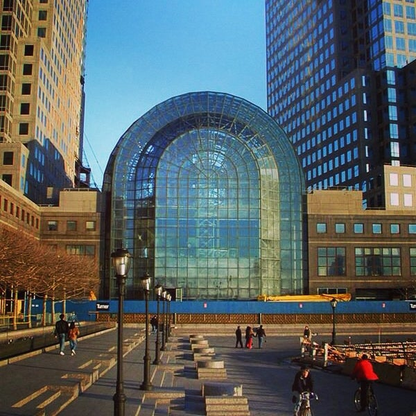 Brookfield Place Shopping Mall In New York