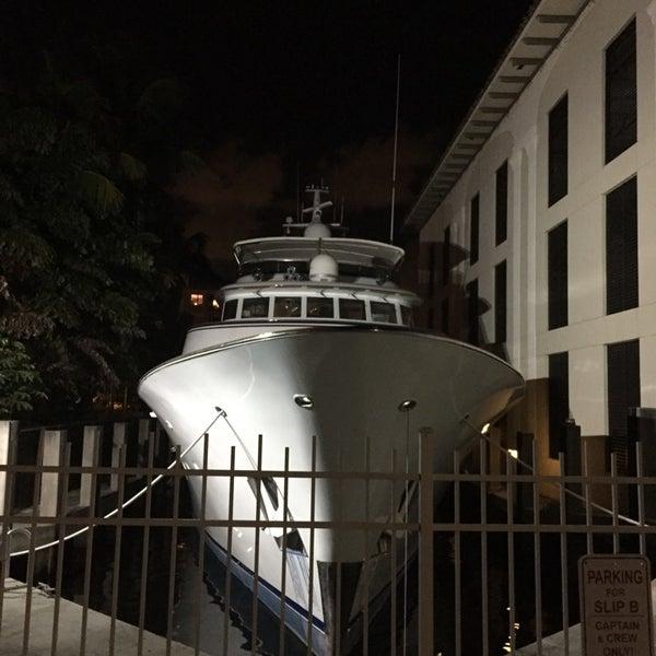 Photo taken at Bimini Boatyard Bar & Grill by Matthew A. on 10/11/2014