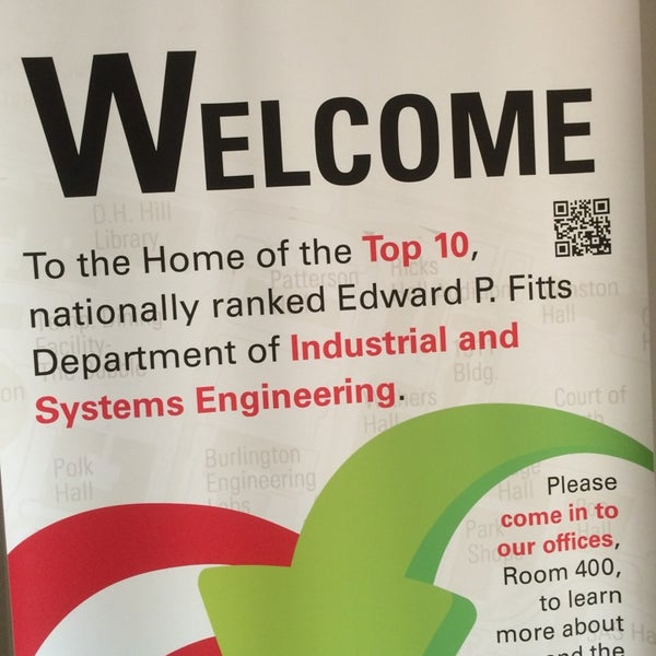 Photo taken at Edward P. Fitts Industrial and Systems Engineering Department by Ashraf E. on 6/9/2014