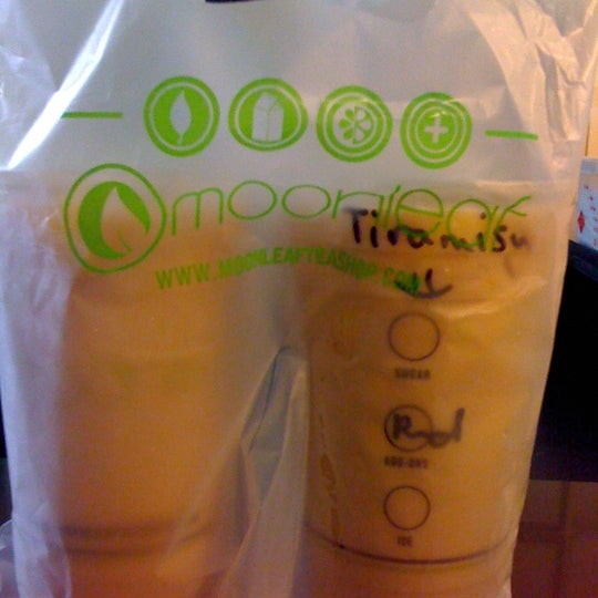 Photo taken at Moonleaf Tea Shop by Lyn B. on 10/4/2012