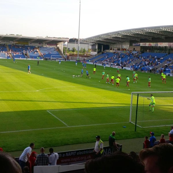 Photo taken at The Proact Stadium by Steven F. on 7/16/2013