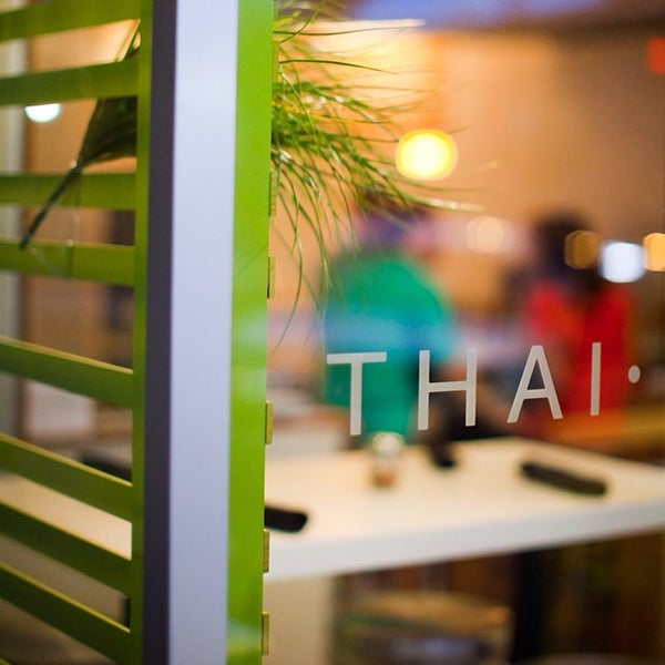 Photo taken at Yumm Thai : Sushi and Beyond by Paul V. on 3/20/2014