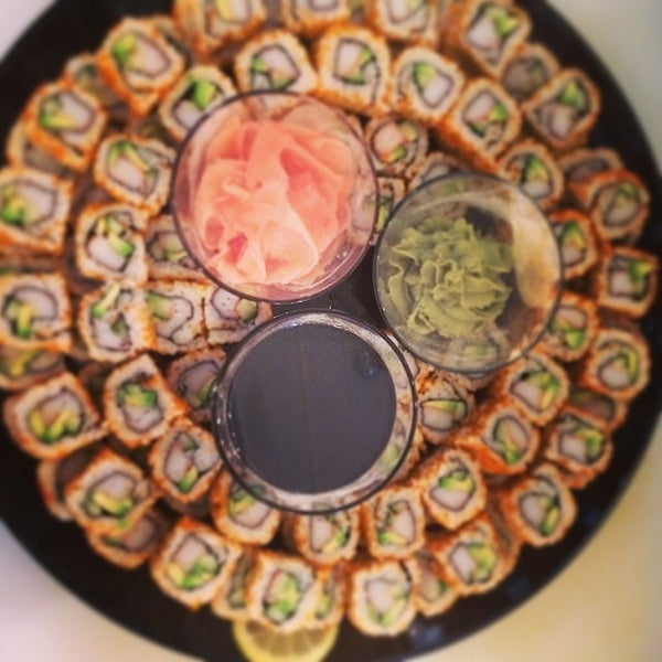 Photo taken at Yumm Thai : Sushi and Beyond by Paul V. on 5/22/2014
