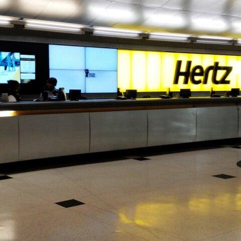 Hertz Rental Car Location In George Bush