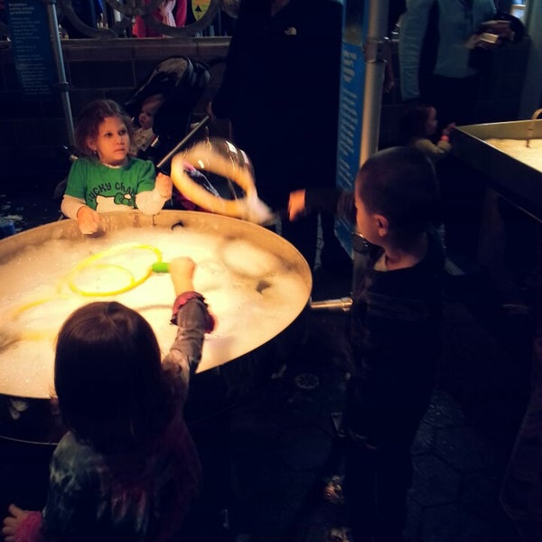 Photo taken at Long Island Children's Museum by Shirley C. on 3/16/2013