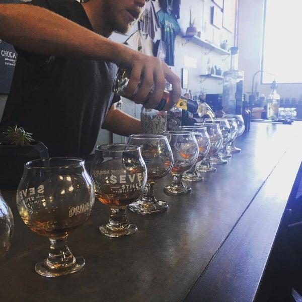 Photo taken at Seven Stills Brewery & Distillery by Raymond R. on 5/1/2016