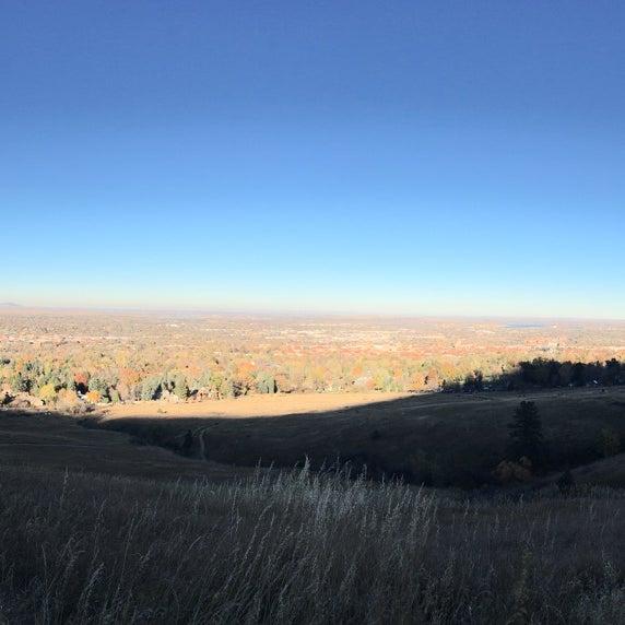 Photo taken at Colorado Chautauqua National Historic Landmark by Jason D. on 11/8/2015