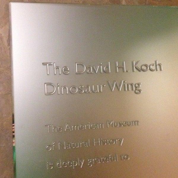 Photo taken at David H. Koch Dinosaur Wing by Jason S. on 6/27/2013