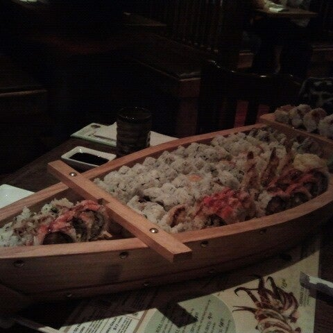 Photo taken at Tomo Japanese Cuisine by Susan C. on 11/3/2012