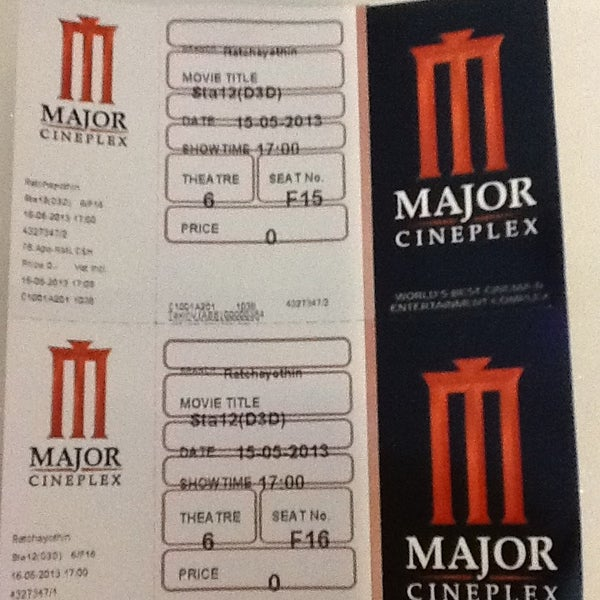 Photo taken at Major Cineplex Ratchayothin by Capt. O. on 5/15/2013