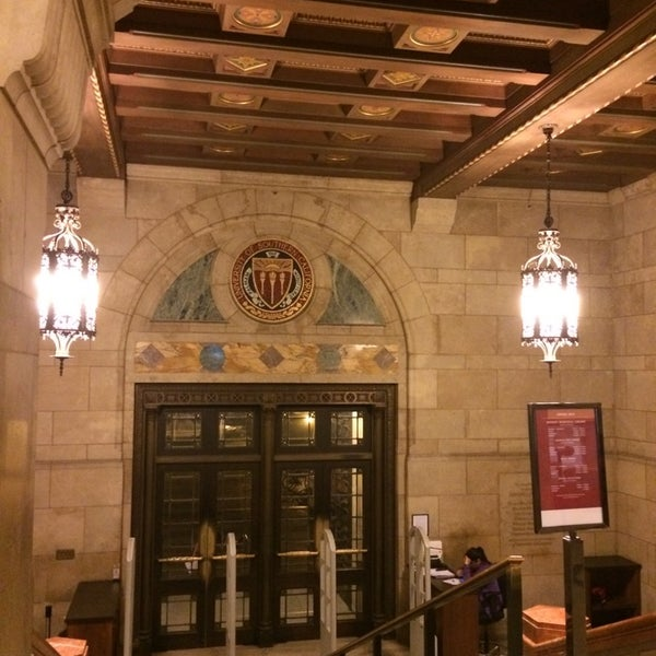Photo taken at Doheny Memorial Library (DML) by Freddi R. on 4/25/2014