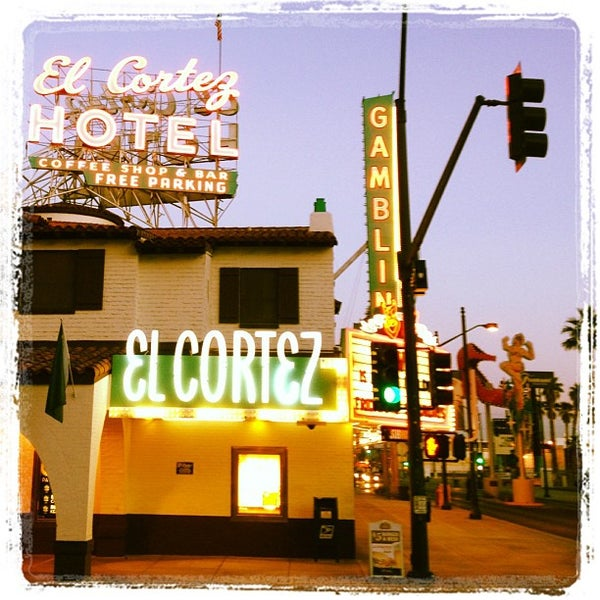 Photo taken at El Cortez Hotel & Casino by Frank G. on 11/28/2012