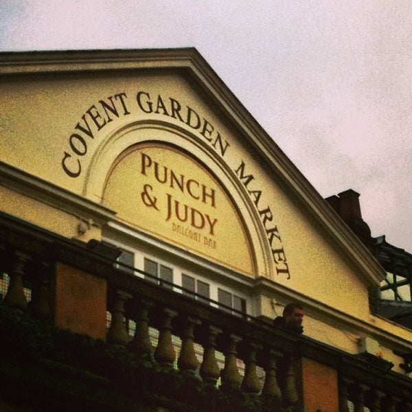 Photo taken at Covent Garden Market by Flavia D. on 5/8/2013