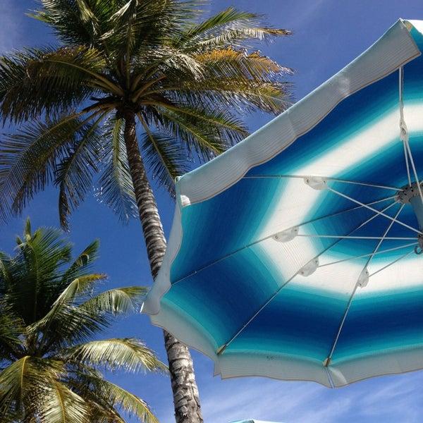 Photo taken at Playa El Yaque by Alice G. on 12/28/2012