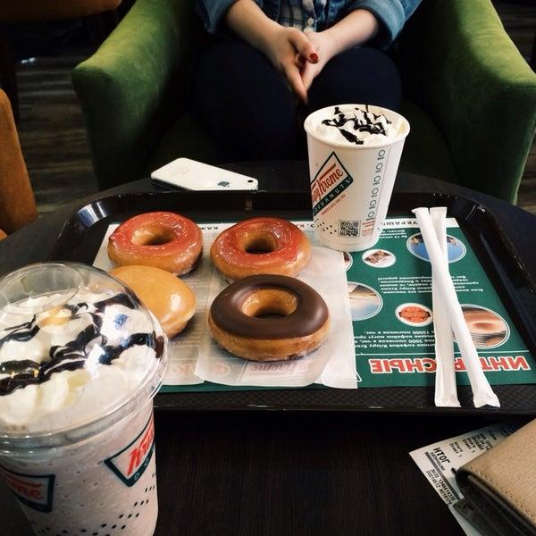 Снимок сделан в Krispy Kreme пользователем Maria K. 4/25/2014