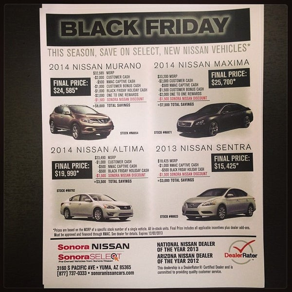 Photo Taken At Sonora Nissan By Artie R. On 11/24/2013