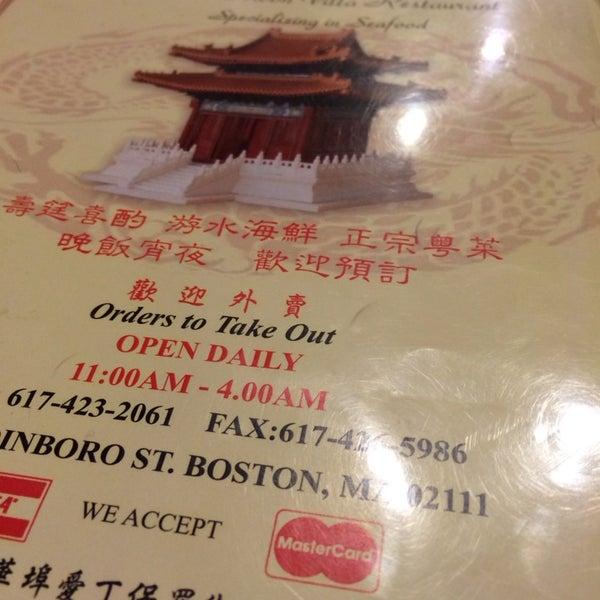 Photo taken at Moon Villa Restaurant by Sousou B. on 12/24/2013