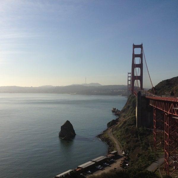 Photo taken at Vista Point by Gu on 2/22/2013