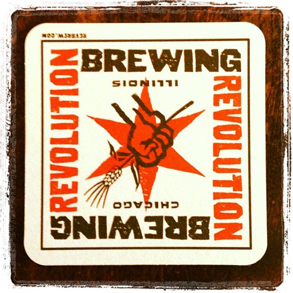 Photo taken at Revolution Brewing by James D. on 11/24/2012