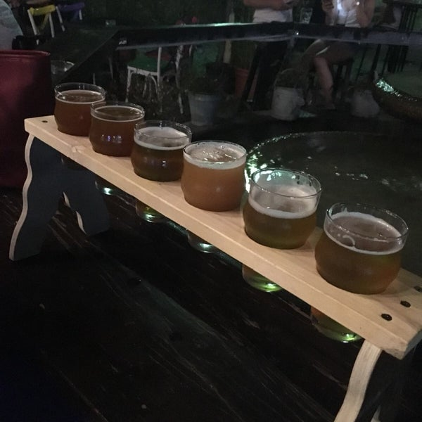 Photo taken at Old Town Brewery by Gizem Y. on 8/2/2018