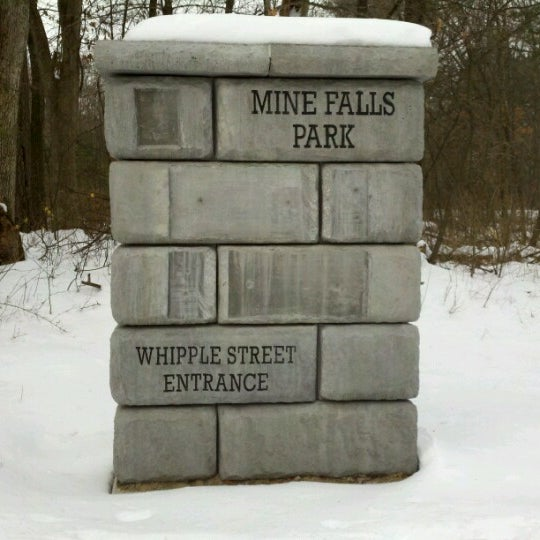 Photo taken at Mine Falls Park by John S. on 1/9/2013