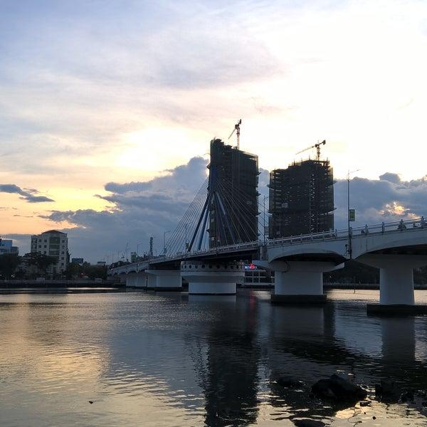 Photo taken at Han River Bridge by Tri B. on 7/2/2016