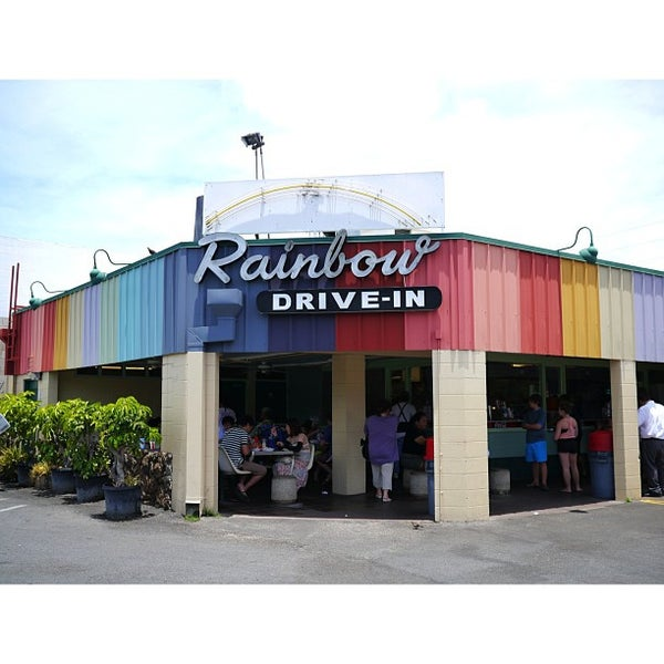 Photo taken at Rainbow Drive-in by Sandra on 5/25/2013