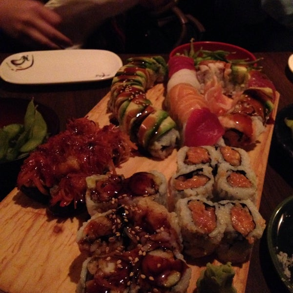 Photo taken at Cherin Sushi by Christina S. on 5/11/2014