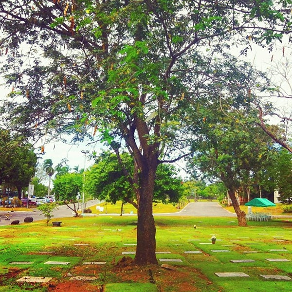 Photo taken at Manila Memorial Park by Miracle V. on 2/12/2013