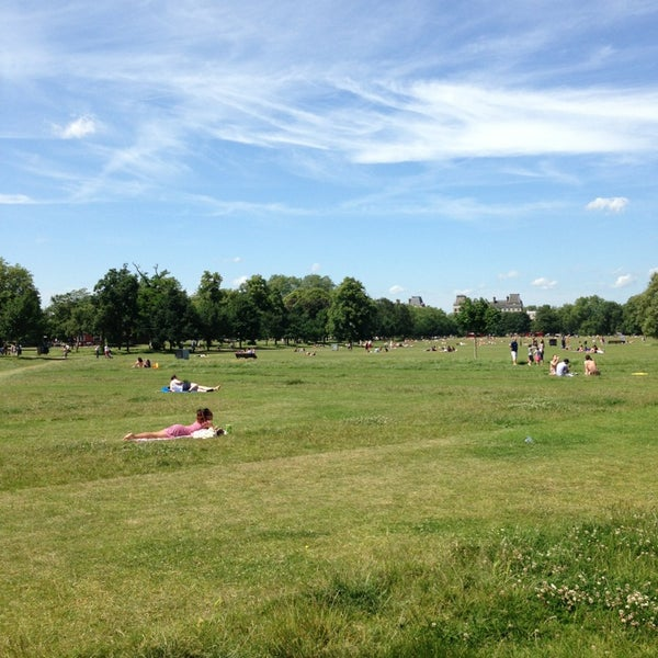 Photo taken at Clapham Common by Neil S. on 6/30/2013