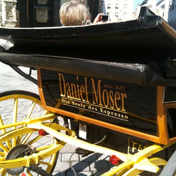 Das Foto wurde bei Café Daniel Moser von Café Daniel Moser am 11/7/2013 aufgenommen