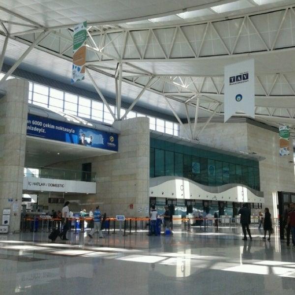 Photo taken at Ankara Esenboğa Airport (ESB) by Enes O. on 7/1/2013