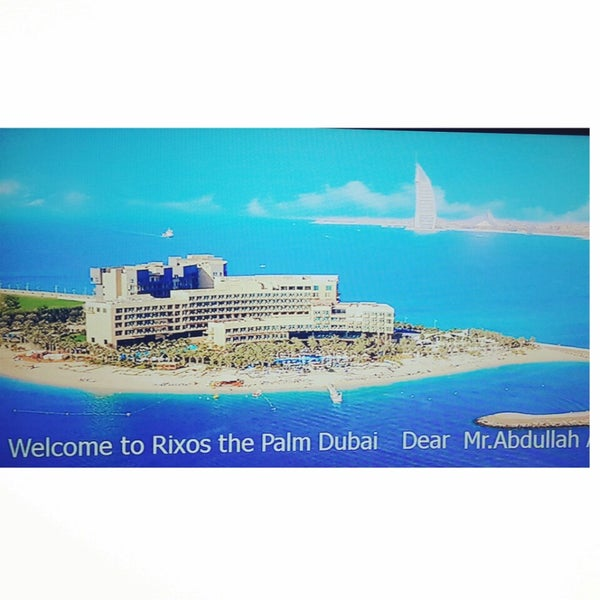 4/3/2014 tarihinde Abdullah_s_swziyaretçi tarafından Rixos The Palm Dubai'de çekilen fotoğraf