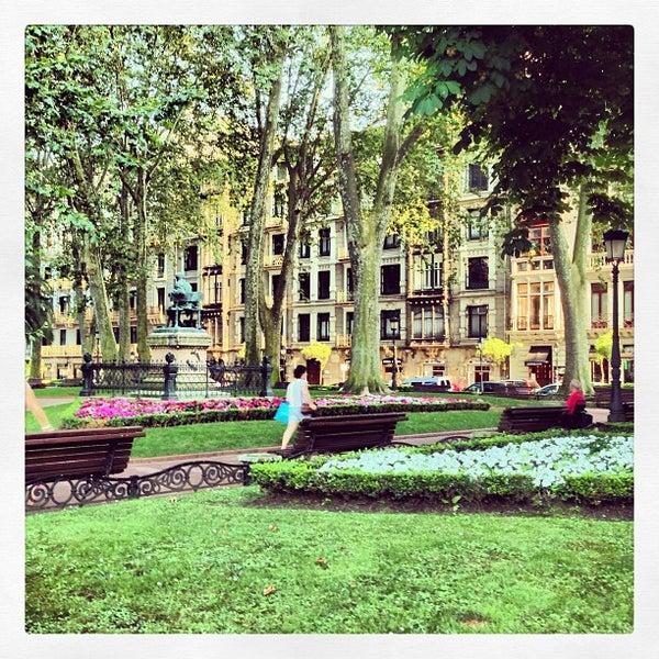 Jardines de albia abando jardines de albia for Jardines de albia
