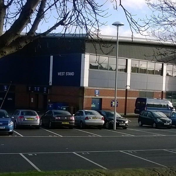 Photo taken at The Proact Stadium by Sarah R. on 1/2/2014