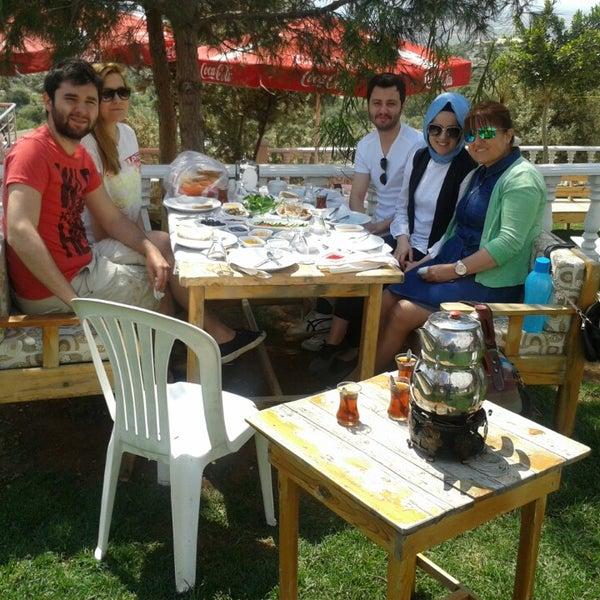 Photo taken at Cennet Koyağı Kahvaltı Evi by İbrahim D. on 5/2/2015