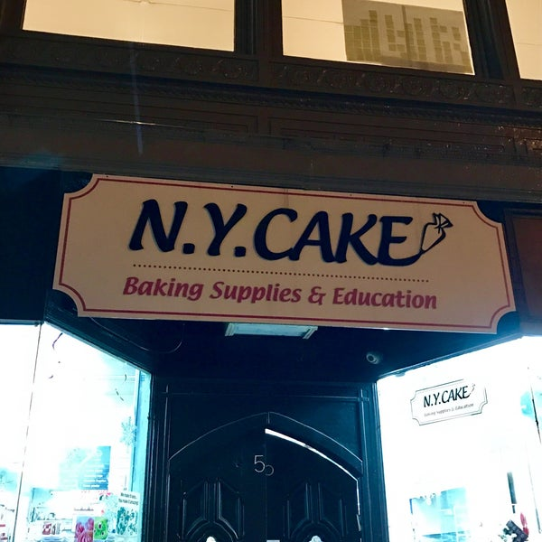 Photo taken at NY Cake & Baking by Terri N. on 12/14/2016