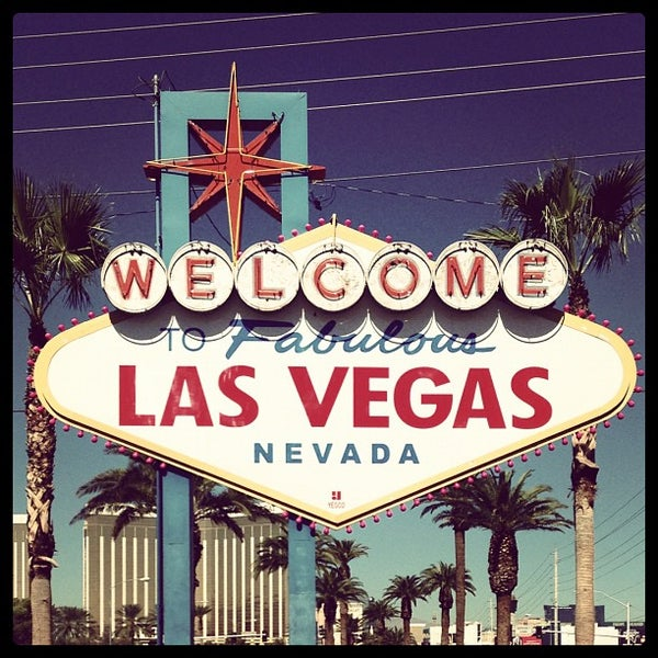 Photo taken at Welcome To Fabulous Las Vegas Sign by Eliam M M. on 11/12/2012