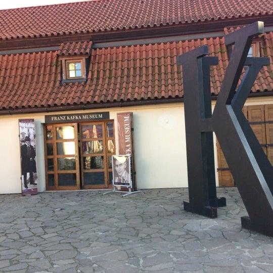 12/1/2012 tarihinde Ilya L.ziyaretçi tarafından Franz Kafka Museum'de çekilen fotoğraf