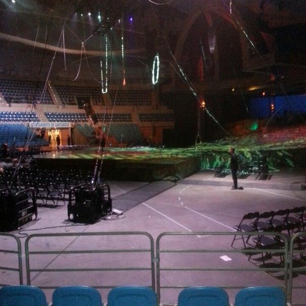 Photo taken at Palacio de los Deportes by pablo b. on 12/13/2013