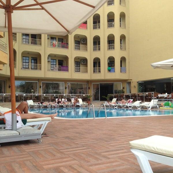 Photo taken at Güneş House Hotel by Ksenia L. on 5/12/2014