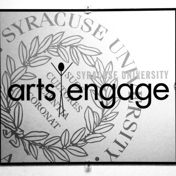 Photo taken at Syracuse University Arts Engage by Hannah B. on 11/15/2013