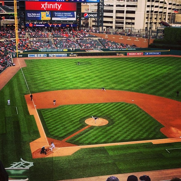 Photo taken at Comerica Park by Ryan F. on 6/6/2013