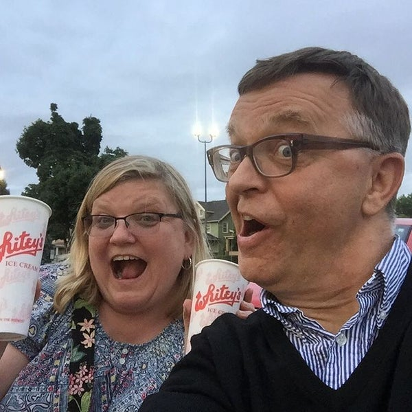 Photo taken at Whitey's Ice Cream by Mac P. on 7/5/2016