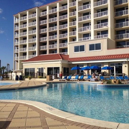 Photo taken at Hilton Pensacola Beach by Mike M. on 12/1/2012