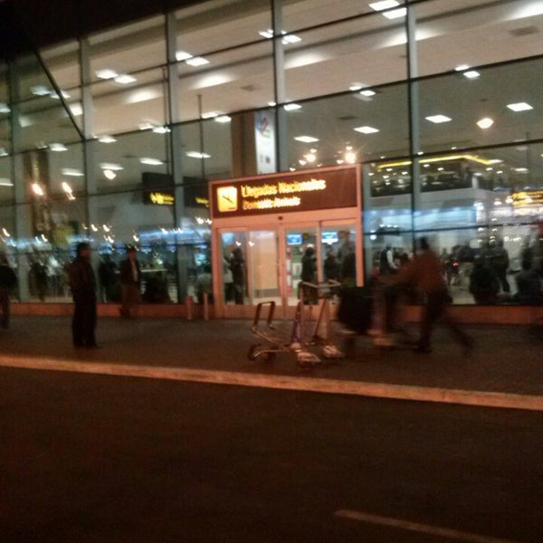 Photo taken at Jorge Chávez International Airport (LIM) by Dora Lucia V. on 6/13/2013